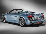 photo 14 Car Audi R8 Spyder cabriolet (1 generation [restyling] 2012 2015)
